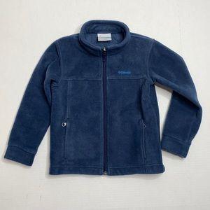 Columbia Fleece Boys Zip Up Jacket